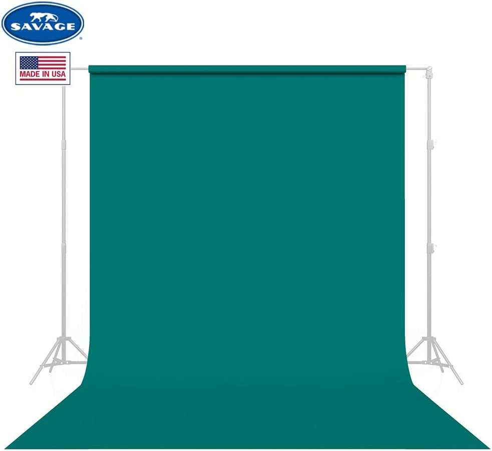 Savage Seamless Background Paper - #68 Teal (107 in x 36 ft)