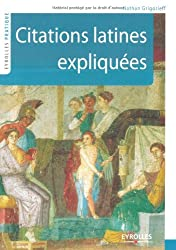 Citations latines expliquées