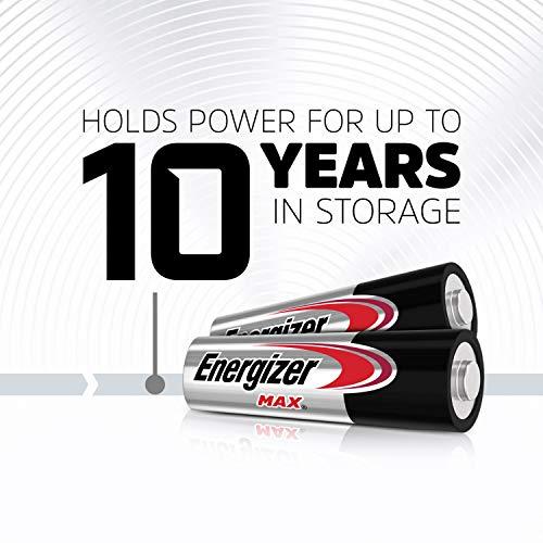 Energizer MAX AA Batteries & AAA Batteries Combo Pack, 24 Double AA Batteries and 24 Triple AAA Batteries (48 Count)