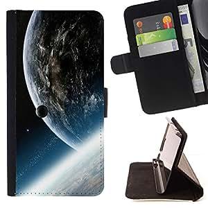 Momo Phone Case / Flip Funda de Cuero Case Cover - Tierra Nibiru Arte extranjero Planet Cosmos Universo - LG Nexus 5 D820 D821
