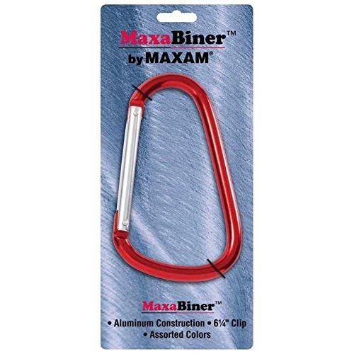 Maxam GFCRB 12 Piece Maxabiner Clips ()
