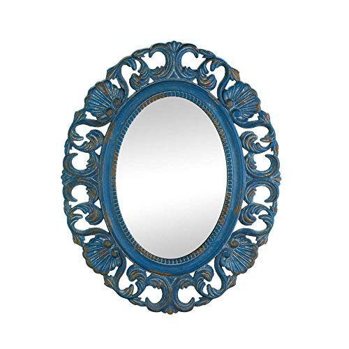 (Accent Plus Vintage Belle Blue Mirror)