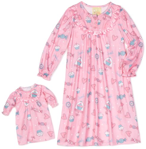UPC 885151403593, Dollie & Me Big Girls' Ruffle Gown, Pink, 12