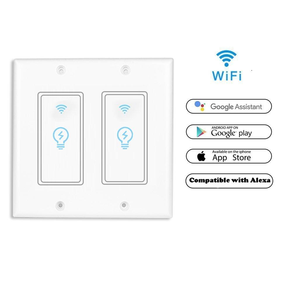 Smart Light Switch Wireless Standard Socket Outletwifi Wire From In Wall
