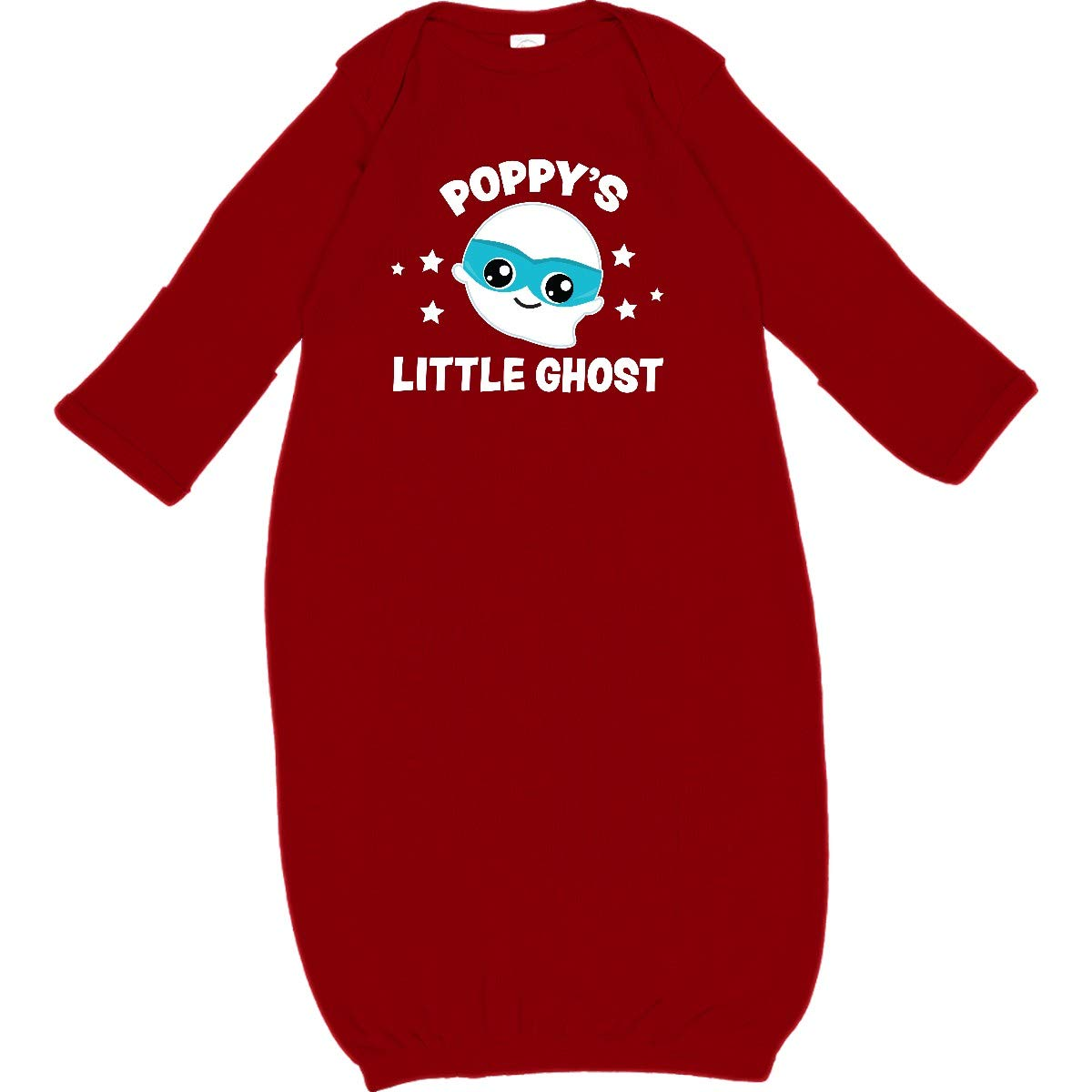 inktastic Cute Poppys Little Ghost with Stars Toddler Long Sleeve T-Shirt