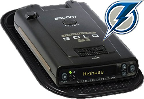 Blue Lightning Radar Detector Dash Mat Anti-Slip Magic Pad