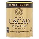 Food Thoughts Fairtrade Organic Cacao Powder - 125g (0.28lbs)