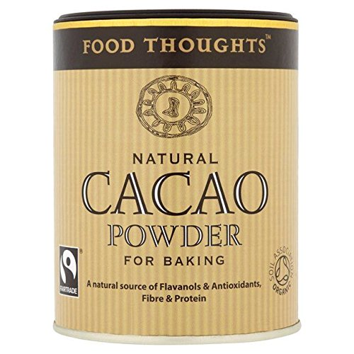 Food Thoughts Fairtrade Organic Cacao Powder - 125g (0.28lbs) -  JOCA-9401