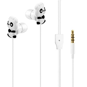 winwintom Cartoon Auriculares In-Ear Sonido Estéreo,Smartphones BQ Aquaris, iPhone 6/