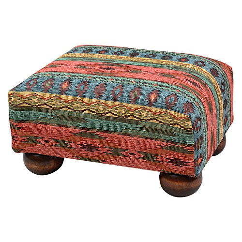 Black Forest Decor Sun Valley Footstool