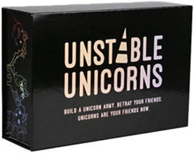 ROSEEH Juego Completo de Cartas de Unicornio, Juegos de Cartas, Juegos de Mesa, Juguetes de Fiesta,2: Amazon.es: Deportes y aire libre