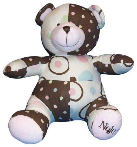 NoJo Ladybug Lullabye Patchwork Bear