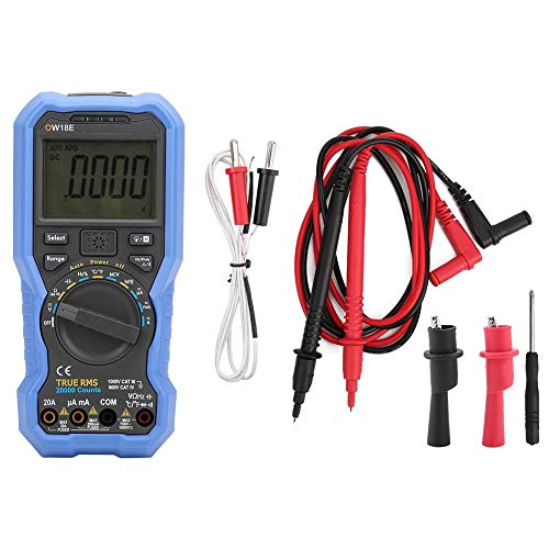 19999 Counts Capacitance Digital Multimeter AC DC High Reliability Voltage for Electronic Circuit Debugging for Designs and Manufacture