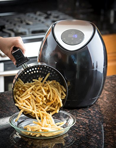Modernhome Taf 711 3 2l Digital Touch Activated Air Fryer