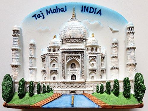 Taj Mahal INDIA Resin 3D fridge Refrigerator Thai Magnet Hand Made Craft. by Thai MCnets