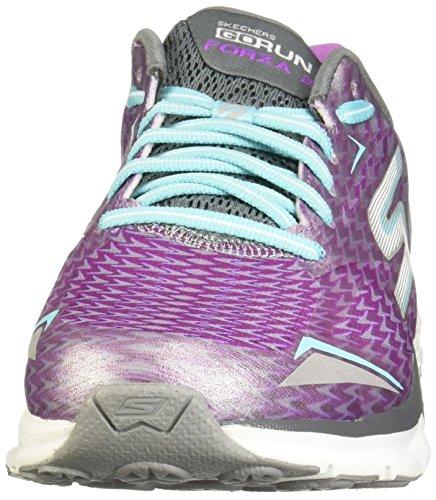 Shoes Blue Running Womens 2 Run Go Forza Skechers nywRqvY0c