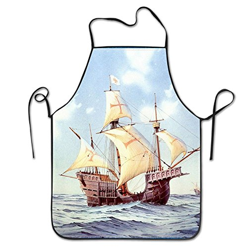 Costume Drama Movies Youtube (Sailing Ship Paintings Cooking Apron Creative Kitchen Apron Adjustable Adult Funny)
