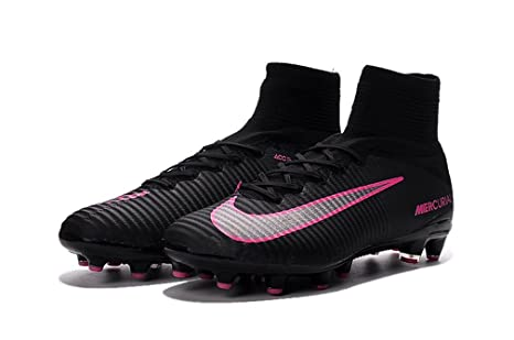 NDSISA1L Womens Mercurial XI Superfly V AG-Pro WithACC Female Black High  Top Football Shoes bf4299a70