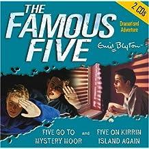2. Five Go to Mystery Moor & Five On Kirrin Island Again: AND Five on Kirrin Island Again (The Famous Five) by Blyton, Enid (2004) Audio CD