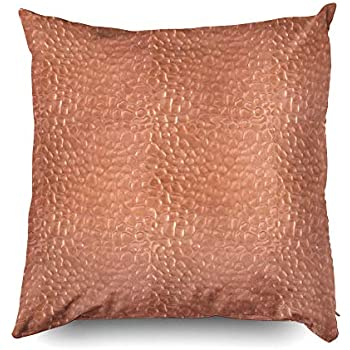 Amazon Com Copper Decorative Pillows Cover 18x18 Inch