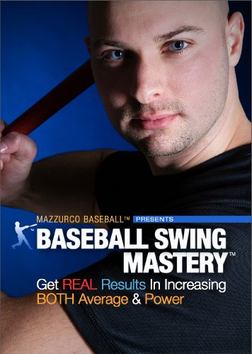 Baseball Swing Mastery - Get Real Results in Increasing Both Average & Power (Baseball Instructional Video - Hitting DVD 2 Disc - Hitting Dvd