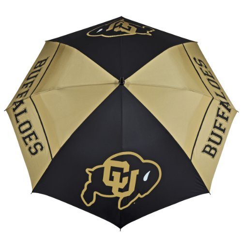 Colorado Buffaloes 62-Inch WindSheer Hybrid Umbrella (Umbrella Windsheer)