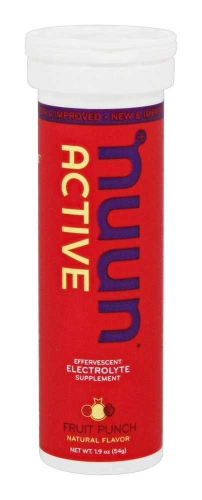 Nuun Active: Fruit Punch Electrolyte Enhanced Drink Tablets (6-Pack of 10) by Nuun (Image #1)