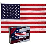 Valley Forge 82221000 American Flag, 8'x12', Multi color
