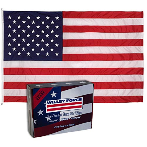 Valley Forge Flag 82221000 Nylon Duratex American Flag, 8'x12'