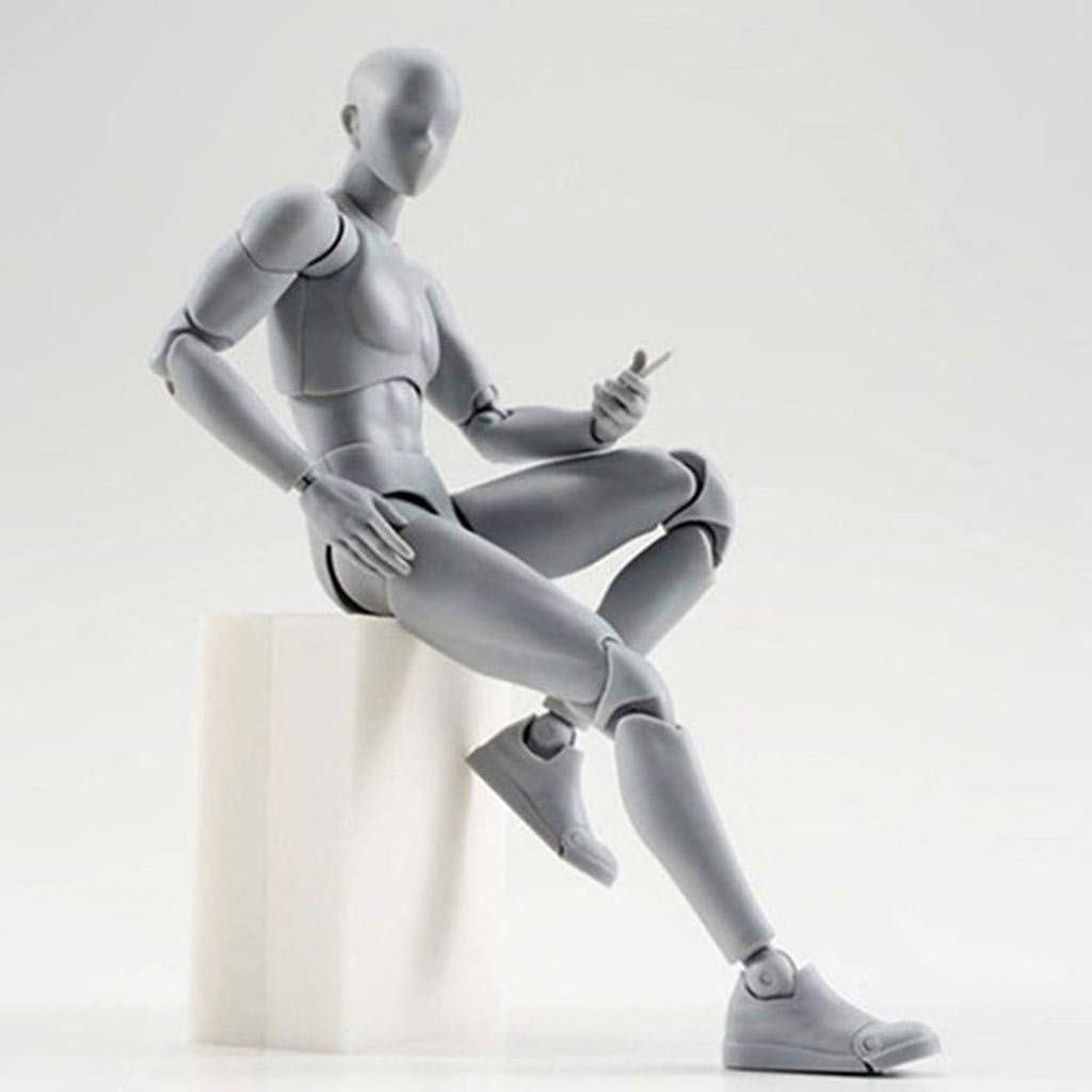 Drawing Figures for Artists Action Figure Toys Model Human Mannequin Man Woman Kits for Sketching Artists Action Model Painting Drawing 1 X of Models Artist