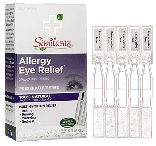 Similasan Monodose Eye Drops - Allergy Eyes #2 Eye Drops (Monodose) Similasan .3 oz Liquid by Similasan