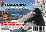 ToeJamR - Snowboard Stomp Pad - BIGFOOT - Brown
