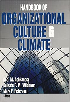 Book Handbook of Organizational Culture and Climate (2004-01-22)