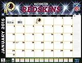 Turner Washington Redskins 2016 Desk Calendar, January-December 2016, 22 x 17