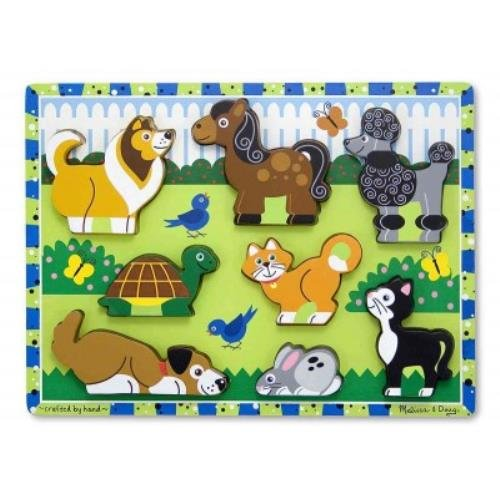 Pets Chunky Puzzle (Fresh Start Wooden Puzzle)