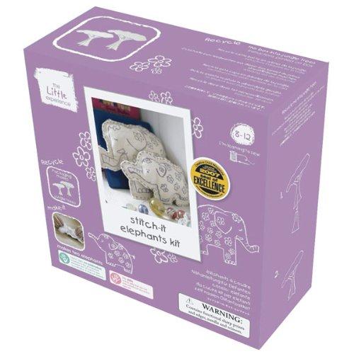 Stitch-it Little Elephants Kit by The Little Stitch-it Experience 7e0121