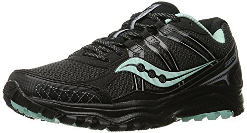 Escursione A Griglia Per Donna Saucony Tr10 Trail Running Shoe Black / Mint