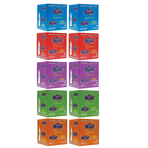 All Sport Powder Hydration Sticks | Zero Calorie | Performance Electrolyte Drink Mix | Sugar Free | 2x Potassium | Variety Pack | 3 grams (500 Count)
