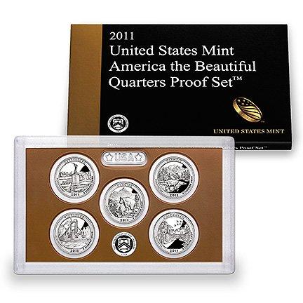 2011 United States Mint America the Beautiful Quarters CLAD PROOF (State Quarter Annual)