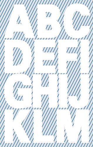 Avery Zweckform 3786 Buchstaben Etiketten, A-Z 25mm (wetterfeste Folie), 30 Aufkleber