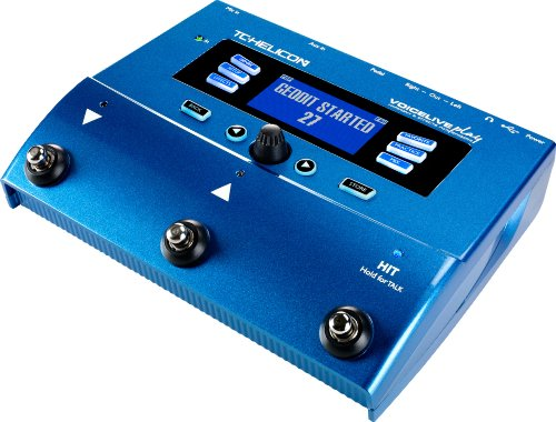 TC Helicon Voice Live Play Vocal Effects Processor (Best Karaoke Machine With Auto Tune)