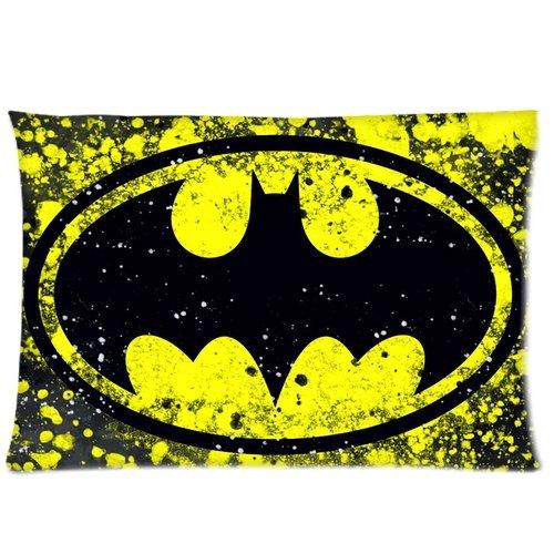 DC Comic Batman Logo 2 Pillowcases 20x26 Inch