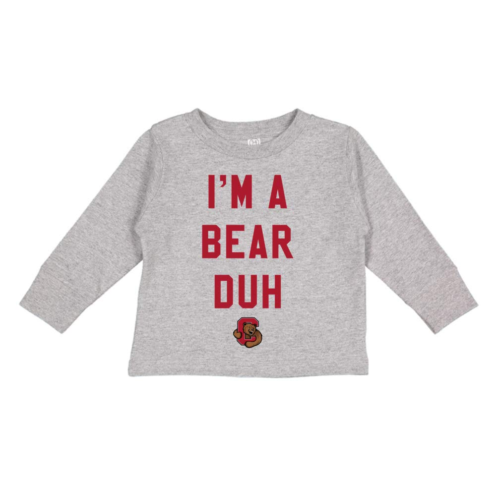 NCAA Cornell Big Red H18COR Toddler Long-Sleeve T-Shirt