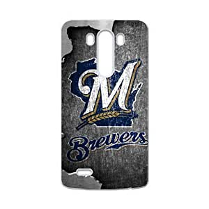 Forever Collectibles MLB Milwaukee Brewers Vintage Custom Case for LG G3