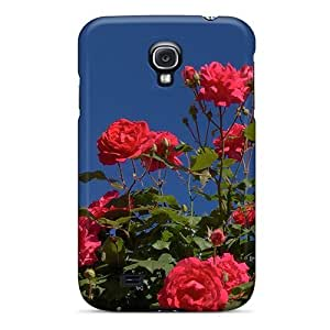 High Grade DaMMeke Flexible Tpu Case For Galaxy S4 - Roseira