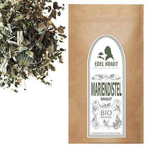 EDEL KRAUT | BIO Mariendistel Kraut Tee - Premium organic milk thistle herb cut - 500g