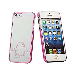 Amjimshop Vovotrade(TM) Fashion Luxury UFO Flying Saucer Hard Case Cover For iPhone 5 5G 5S (pink)