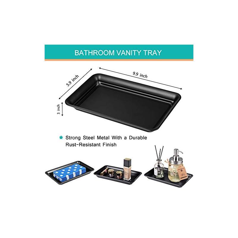 Mason Jar Bathroom Accessories Set 8 Pcs - Lotion Soap Dispenser,Toothbrush Holder,2 Apothecary Jars, Flower Vase,Soap…