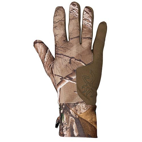 Browning Liner - Browning 3078332402 Hell's Canyon Riser Liner Glove, Realtree Xtra, Medium