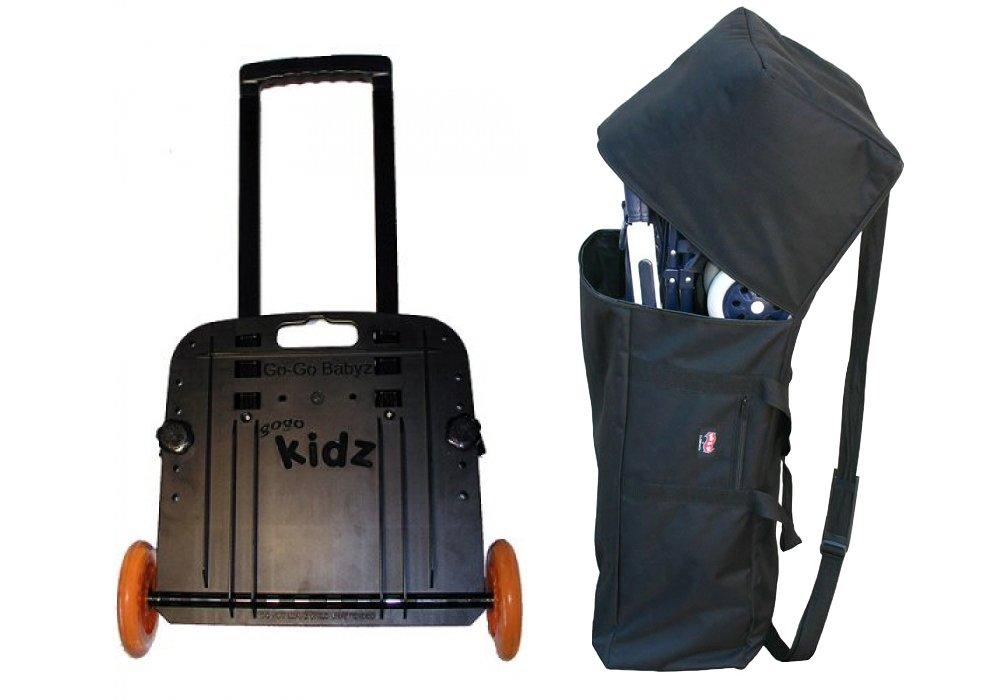 GoGo Babyz Travelmate Car Seat Carrier & Padded Umbrella Stroller Bag